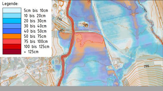42_Objektbeurteilung für ganze Siedlung Sturzflutkarte